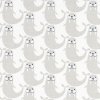 Bunk Bed Bedding Fabric - Russ in French Gray - Drake
