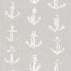 Bunk Bed Bedding Fabric - Sea Port in French Gray - Drake