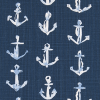 Bunk Bed Bedding Fabric - Sea Port in Sky - Drake
