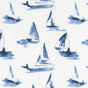 Bunk Bed Bedding Fabric - Sea View in Sky - Drake