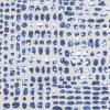 Bunk Bed Bedding Fabric - Sediment in Vivid - Slub Canvas
