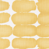 Bunk Bed Bedding Fabric - Shibori in Brazilian Yellow - Slub Canvas